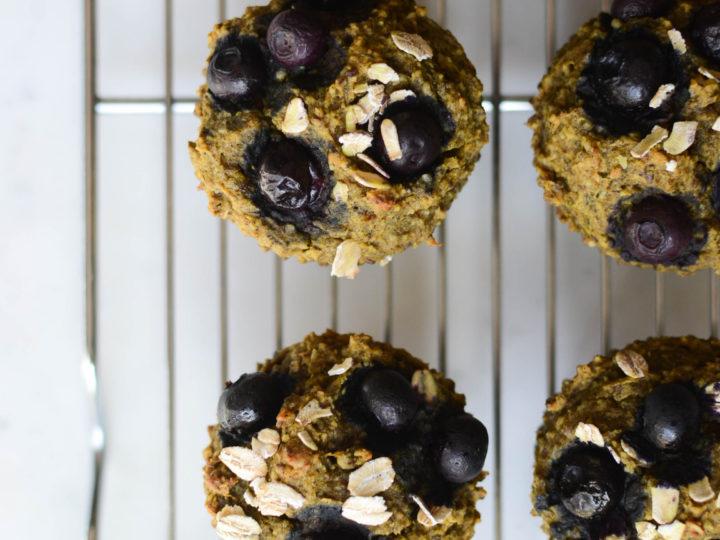 anti-inflammatory banana muffins