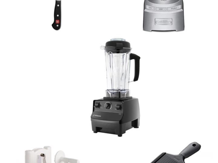my top 5 kitchen essentials