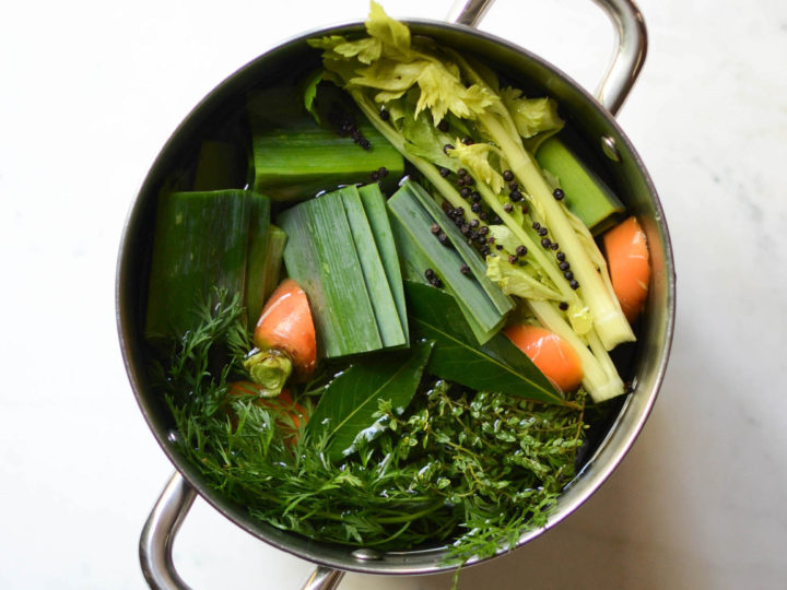 no waste vegetable stock